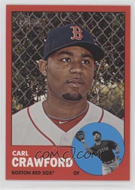2012 Topps Heritage - [Base] #96.2 - Carl Crawford (Target Red)