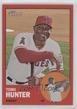 2012 Topps Heritage - [Base] #98.2 - Torii Hunter (Target Red)
