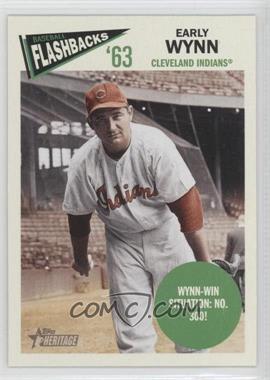 2012 Topps Heritage - Baseball Flashbacks #BF-EW - Early Wynn