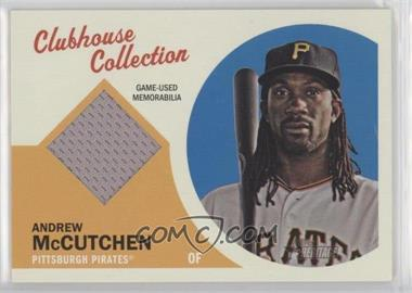 2012 Topps Heritage - Clubhouse Collection Relic #CCR-AM - Andrew McCutchen