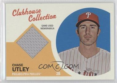 2012 Topps Heritage - Clubhouse Collection Relic #CCR-CU - Chase Utley