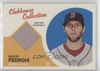 2012 Topps Heritage - Clubhouse Collection Relic #CCR-DP - Dustin Pedroia