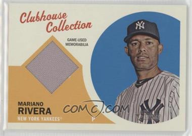 2012 Topps Heritage - Clubhouse Collection Relic #CCR-MR - Mariano Rivera