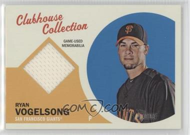 2012 Topps Heritage - Clubhouse Collection Relic #CCR-RV - Ryan Vogelsong