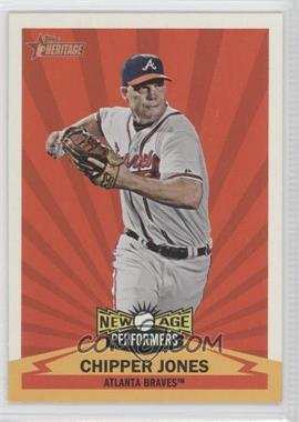 2012 Topps Heritage - New Age Performers #NAP CJ - Chipper Jones