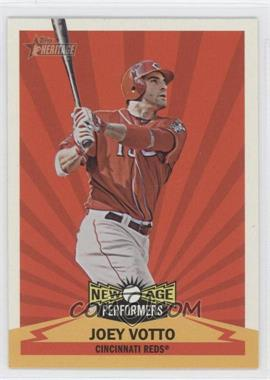 2012 Topps Heritage - New Age Performers #NAP JV - Joey Votto