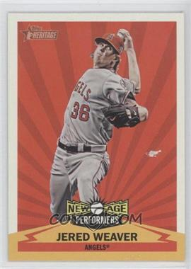 2012 Topps Heritage - New Age Performers #NAP JW - Jered Weaver