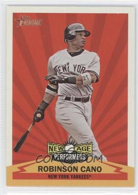 2012 Topps Heritage - New Age Performers #NAP RC - Robinson Cano