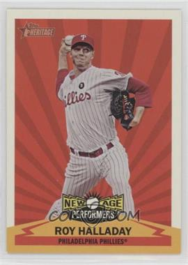 2012 Topps Heritage - New Age Performers #NAP RH - Roy Halladay