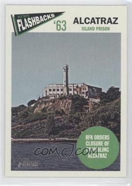 2012 Topps Heritage - News Flashbacks #NF-A - Alcatraz