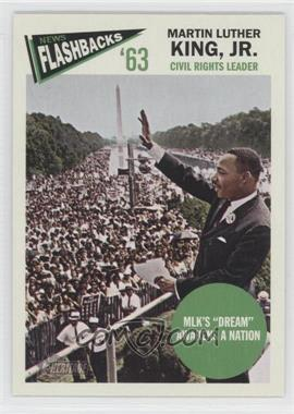 2012 Topps Heritage - News Flashbacks #NF-MK - Martin Luther King Jr.