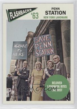 2012 Topps Heritage - News Flashbacks #NF-PS - Penn Station