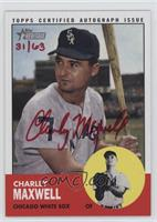 Charley Maxwell /63