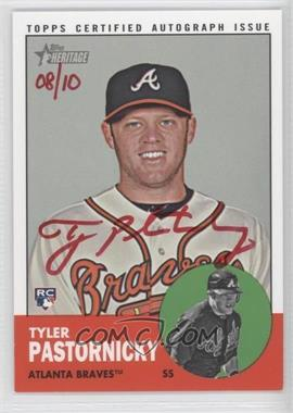 2012 Topps Heritage - Real One Certified Autographs - Special Edition Red Ink #ROA-TP - Tyler Pastornicky /10