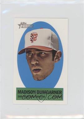 2012 Topps Heritage - Stick-Ons #10 - Madison Bumgarner