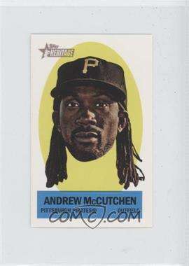 2012 Topps Heritage - Stick-Ons #16 - Andrew McCutchen