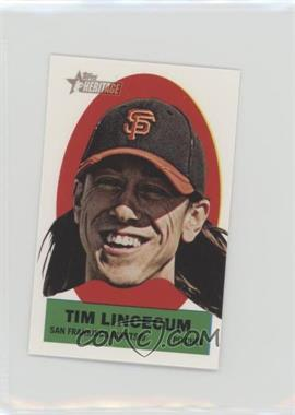 2012 Topps Heritage - Stick-Ons #18 - Tim Lincecum