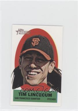 2012 Topps Heritage - Stick-Ons #18 - Tim Lincecum