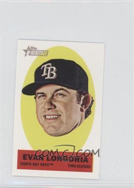 2012 Topps Heritage - Stick-Ons #22 - Evan Longoria