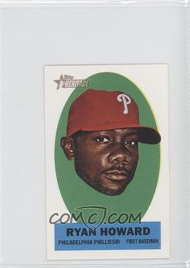 2012 Topps Heritage - Stick-Ons #27 - Ryan Howard