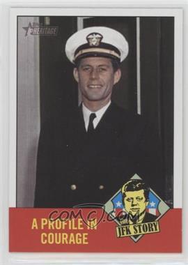 2012 Topps Heritage - The JFK Story #JFK2 - John F. Kennedy