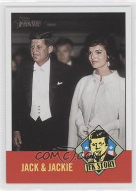 2012 Topps Heritage - The JFK Story #JFK4 - John F. Kennedy, Jackie Kennedy