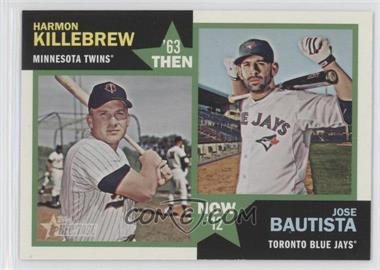 2012 Topps Heritage - Then and Now #TN-KB - Harmon Killebrew, Jose Bautista