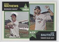 Eddie Mathews, Jose Bautista