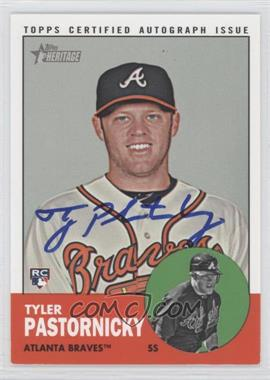2012 Topps Heritage High Numbers - Real One Certified Autographs #ROA-TP - Tyler Pastornicky