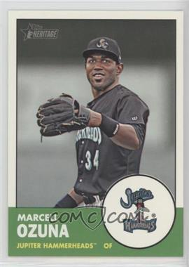 2012 Topps Heritage Minor League Edition - [Base] #122 - Marcell Ozuna