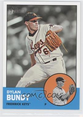 2012 Topps Heritage Minor League Edition - [Base] #2.2 - Dylan Bundy