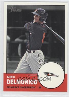 2012 Topps Heritage Minor League Edition - [Base] #55 - Nick Delmonico
