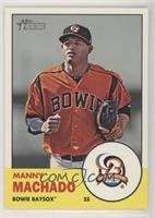 Manny Machado (Baysox Logo in Inset)