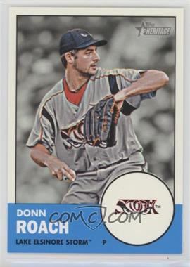 2012 Topps Heritage Minor League Edition - [Base] #76 - Donn Roach