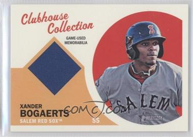 2012 Topps Heritage Minor League Edition - Clubhouse Collection Relics #CCR-XB - Xander Bogaerts