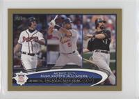 Albert Pujols, Todd Helton, Chipper Jones /61