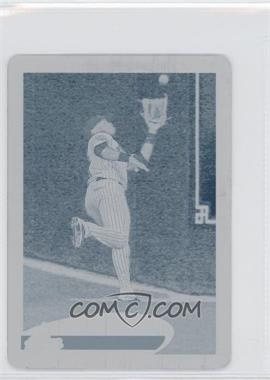 2012 Topps Mini - [Base] - Printing Plate Cyan #321 - Jason Bourgeois /1