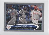 Matt Kemp, Prince Fielder, Ryan Howard /5