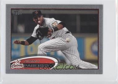 2012 Topps Mini - [Base] - Silver #585 - Jimmy Paredes /5