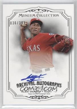 2012 Topps Museum Collection - Archival Autographs - [Autographed] #AA-AO2 - Alexi Ogando /399