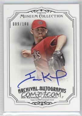 2012 Topps Museum Collection - Archival Autographs - [Autographed] #AA-IK - Ian Kennedy /100
