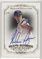 Nolan Ryan [EX to NM] #/5