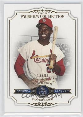 2012 Topps Museum Collection - [Base] - Blue #53 - Lou Brock /99