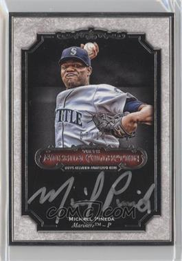 2012 Topps Museum Collection - Framed Autographs - Silver #MCA-MP - Michael Pineda /10