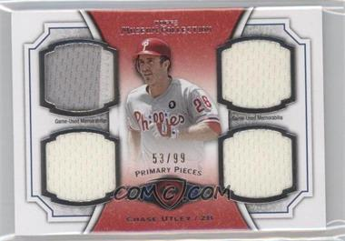 2012 Topps Museum Collection - Primary Pieces Quad Relics #PPQR-CU - Chase Utley /99