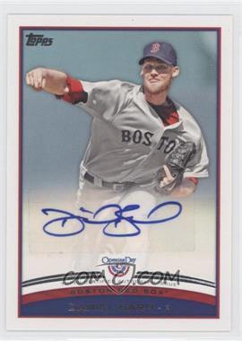 2012 Topps Opening Day - Autographs #ODA-DB - Daniel Bard