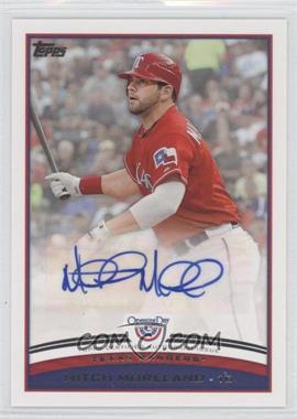 2012 Topps Opening Day - Autographs #ODA-MM - Mitch Moreland