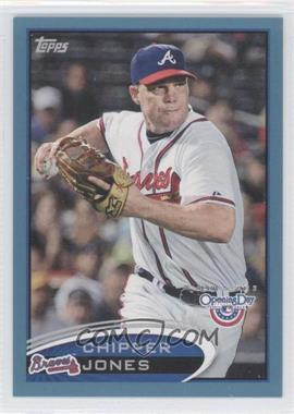 2012 Topps Opening Day - [Base] - Blue #134 - Chipper Jones /2012