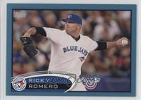 Ricky Romero #/2,012