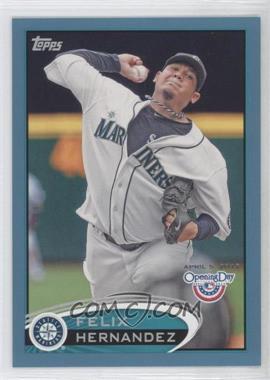 2012 Topps Opening Day - [Base] - Blue #199 - Felix Hernandez /2012